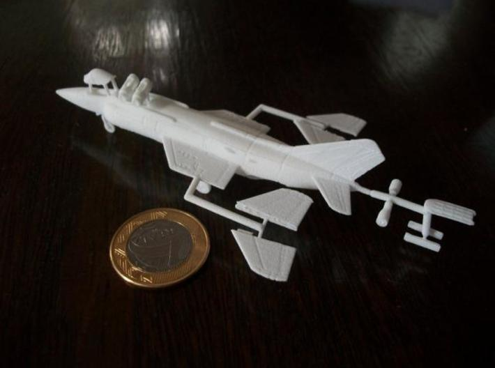 010A Yak-38 Forger 1/144 WSF 3d printed Printed in WSF