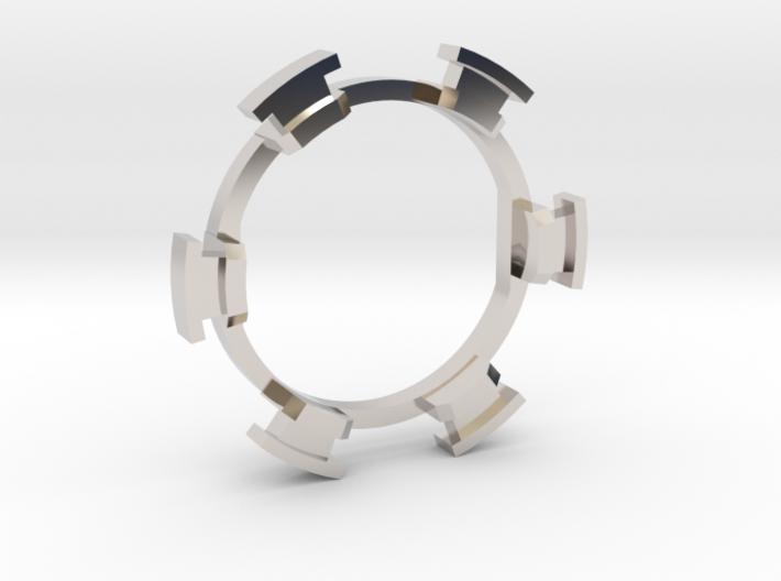 "HILT GX16 Connector Holder 7/8"" Gate Ring 3d printed"