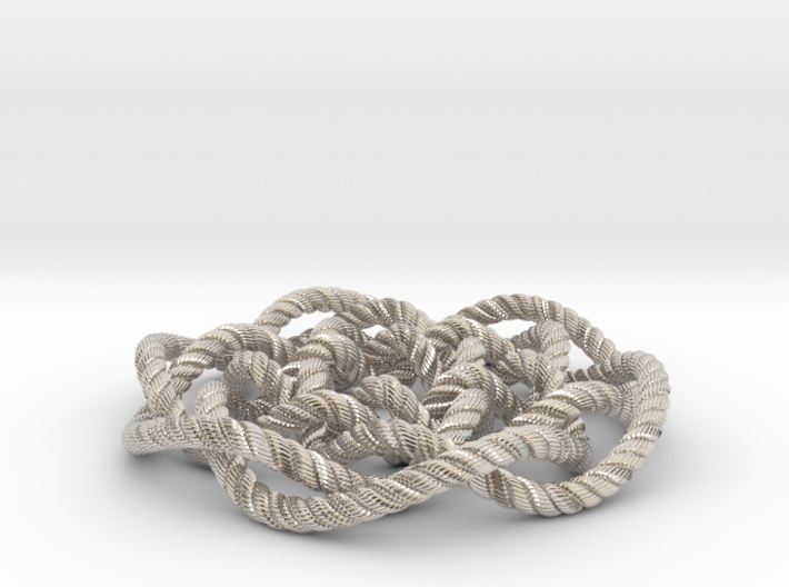 Rose knot 6/5 (Rope with detail) 3d printed