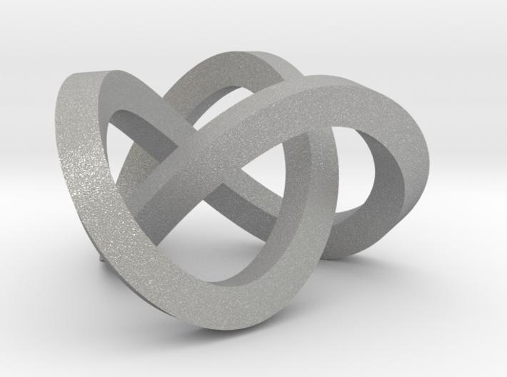 Trefoil knot (Square) 3d printed