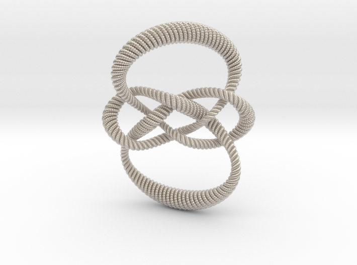Carrick mat (Rope with detail) 3d printed