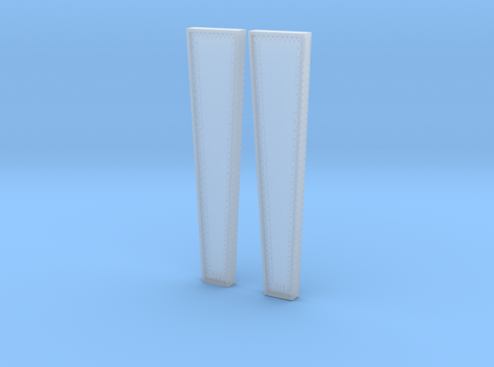 Left and Right Pier Masters for Rt 15 Bridge Wethe 3d printed