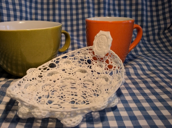 Marriage, BirthDay, Special Occasion: Serveware 3d printed Casual Breakfast (with a smiling Lady)