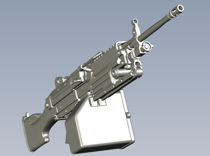1/15 scale FN Fabrique Nationale M-249 Minimi x 5 3d printed