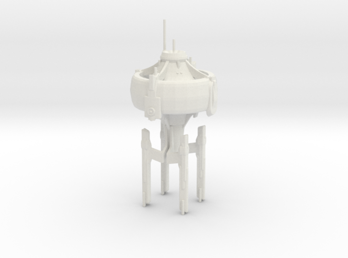 U.S.S. Stargazer 3d printed