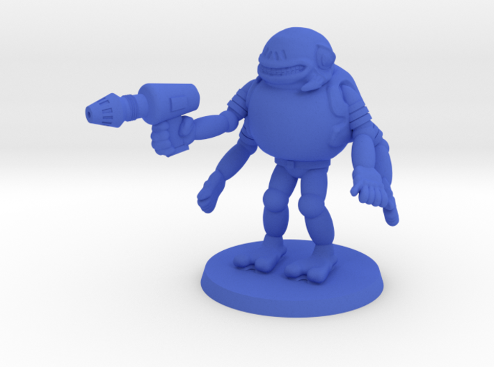 Trogg Security Officer 3d printed