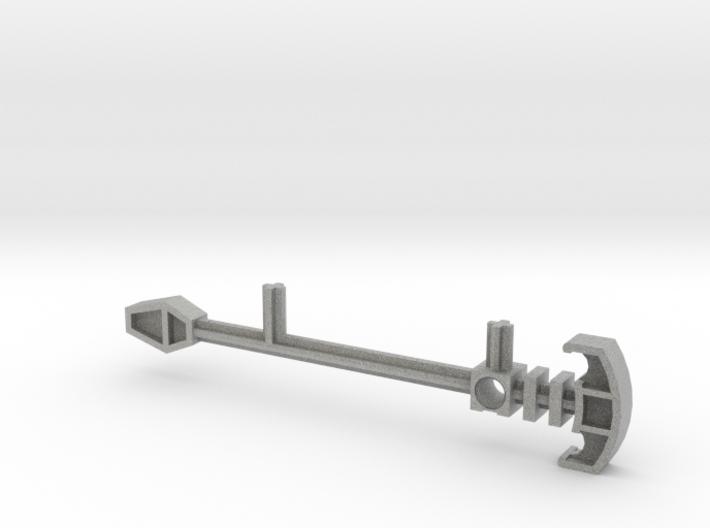 Bionicle staff (Matau, set form) 3d printed