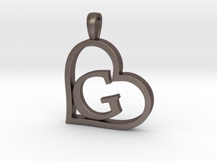 Alpha Heart 'G' Series 1 3d printed