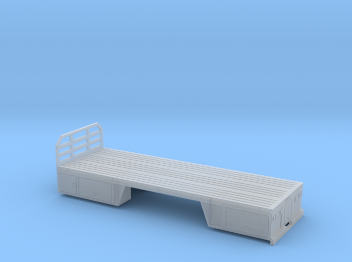 1/64th 24 foot Tire or Utility Service Truck Bed 3d printed
