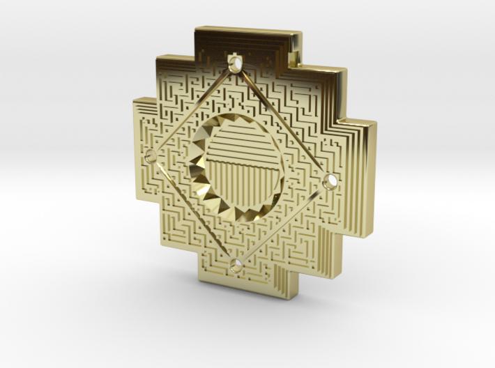 Inca cross amulet kbxvhc322 by thepi inca cross amulet 3d printed aloadofball Images