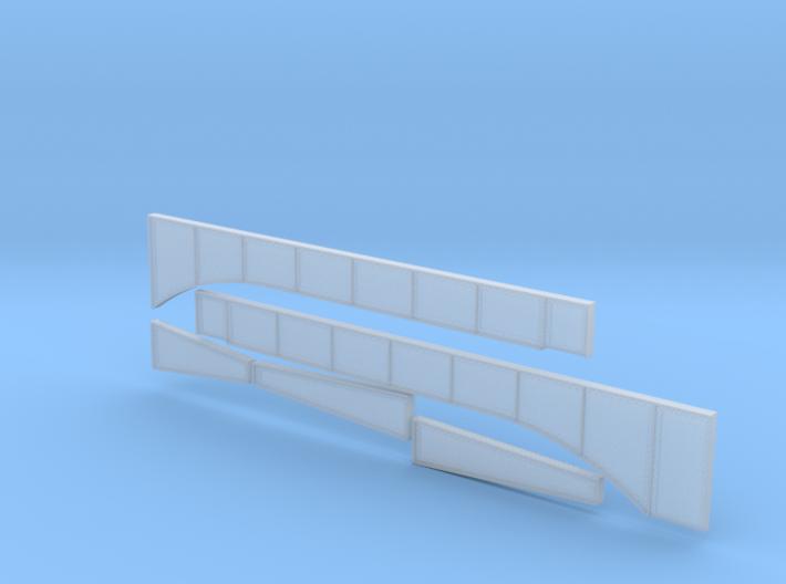 Rt 15 Wethersfield Bridge girders and piers 3d printed