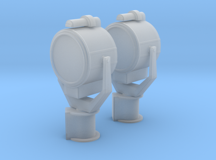 1/25 USN 24 inch Searchlight Set 3d printed