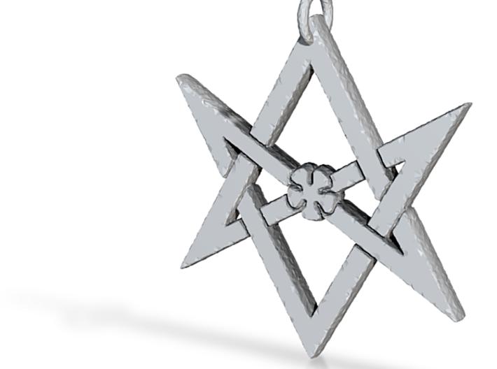 Thelemic Hexagram 3d printed
