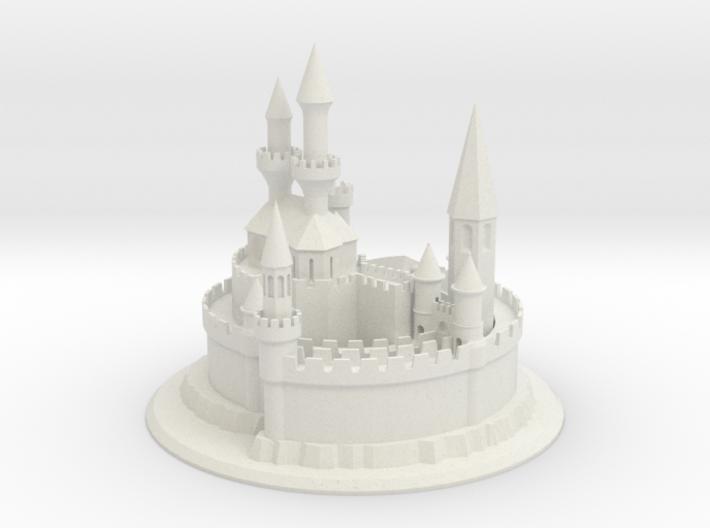 1/8 Sand Castle 3d printed