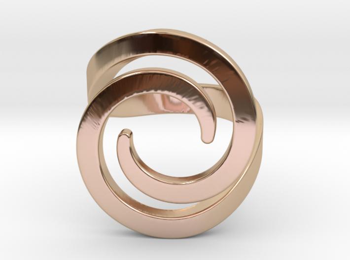 Fashion ring 3d printed