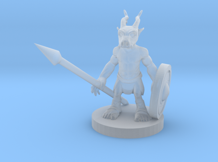 wild warrior 3d printed
