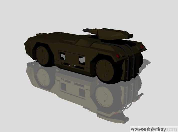Alien APC M-577 Scale1/48 (Body,Weapons,Wheels) 3d printed