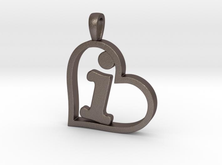 Alpha Heart 'I' Series 1 3d printed