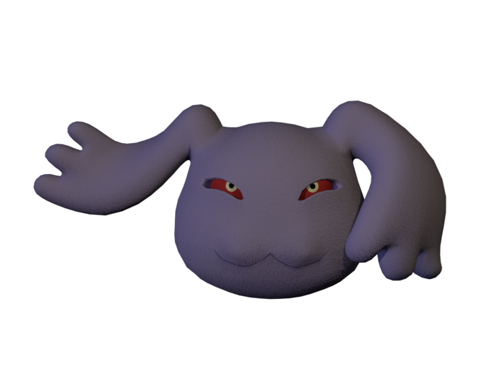 Pagumon 3d printed This is just a quick color render of what the sandstone might look like. NOT A PHOTO.