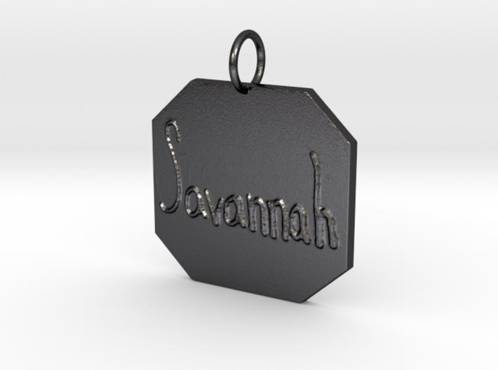 """Savannah"" Pendant 3d printed"