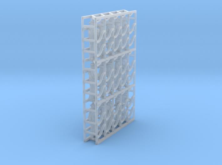 1/144 Wagon Lits Set002 3d printed