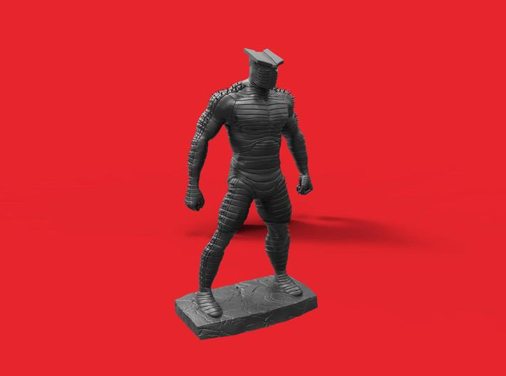 samurai warrior 3d printed
