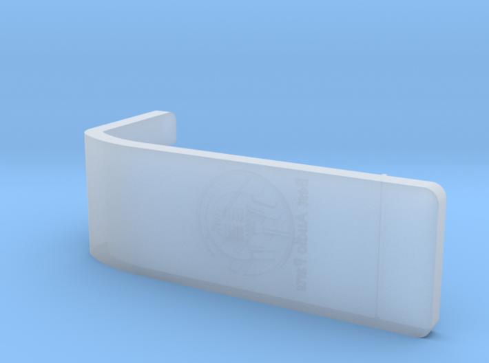 Pioneer Overhang Gauge 3d printed