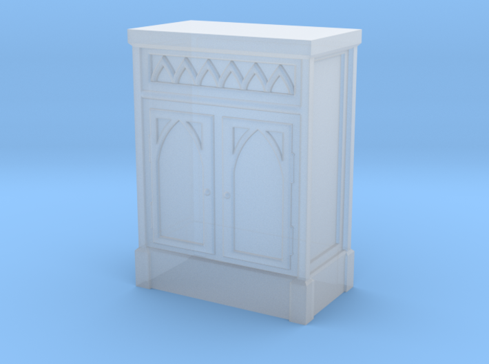 Gothic Cabinet 3d printed