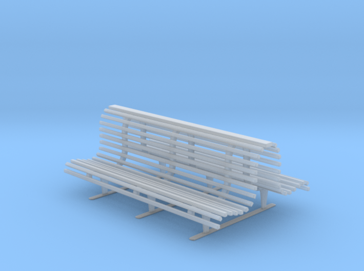 Printle Thing Double Bench 1/32 3d printed
