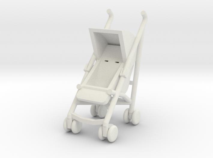 1:48 Stroller 3d printed