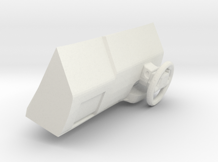1/35 Chevrolet Tahoe Dashboard and Stearing Wheel 3d printed