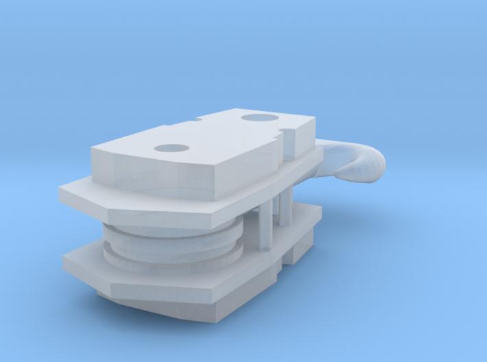 AC40-92 Haken 2 Rollen 3d printed