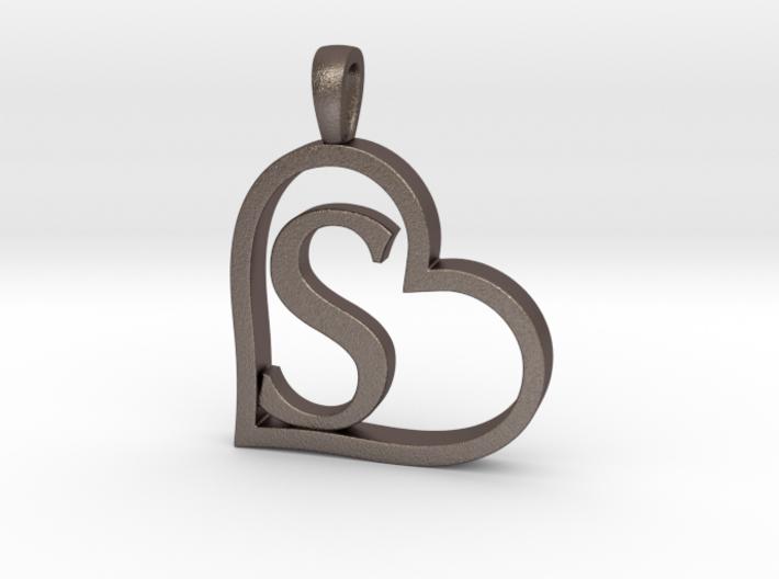 Alpha Heart 'S' Series 1 3d printed