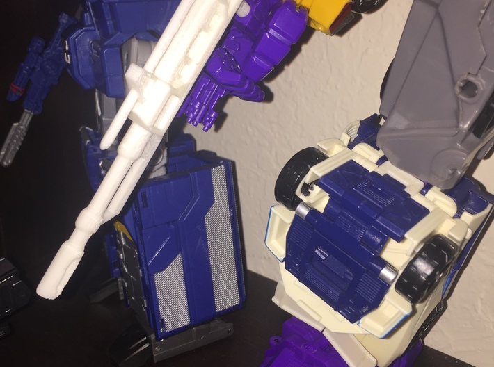 King of the Road's Blaster Redux 3d printed