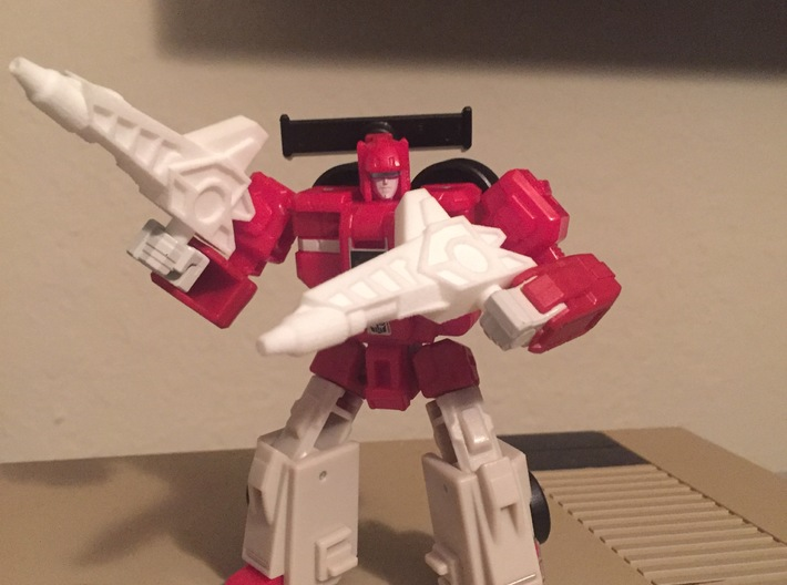 Titans Return Fastclash Weapons 3d printed