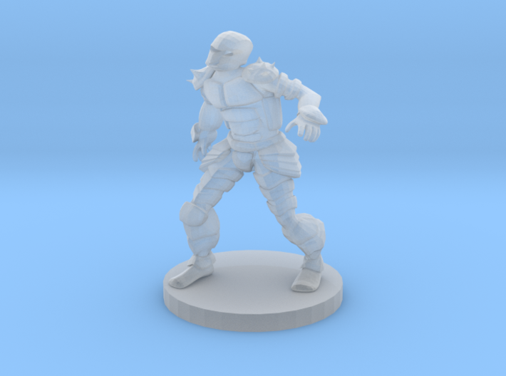 Animated Armor 3d printed