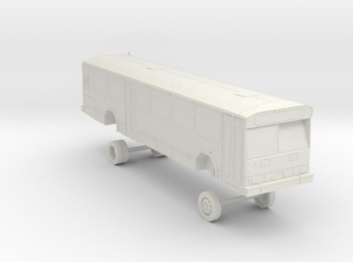 HO Scale Bus Gillig Phantom Samtrans 600s 3d printed