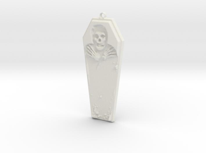 Misfits Pendant 3d printed