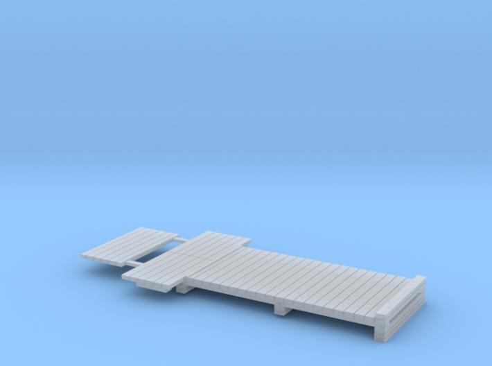 HO NSWGR Standard Sleeper Take-Off 3d printed