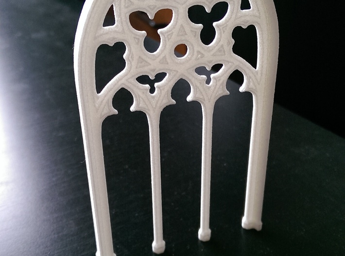 Gothic Window 3d printed photo of the printed model