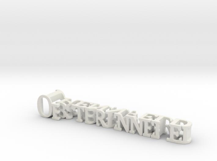 3dWordFlip: Obstbrennerei/Trennfeld 3d printed