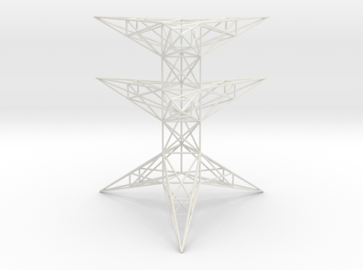 Pylon Accessories Stand Tower 2 3d printed