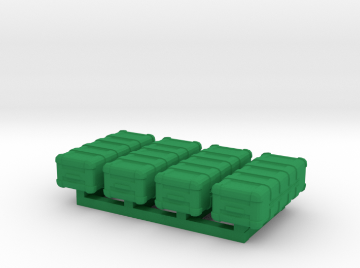 1/87 Scale Weapons Cases v5 x4 3d printed