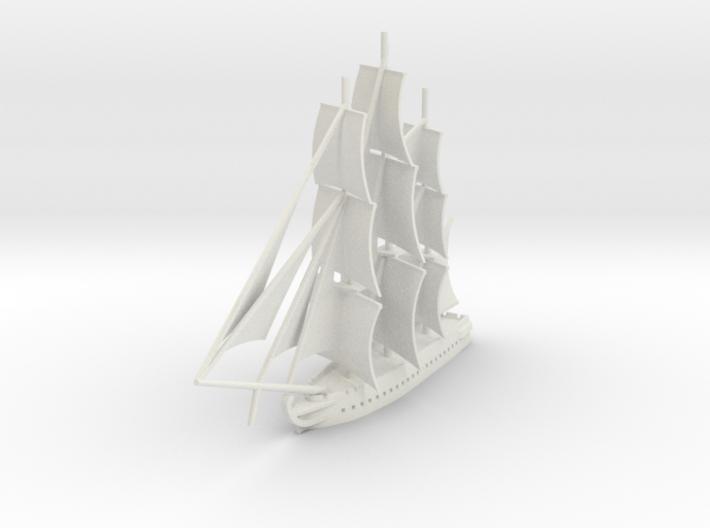 1812 Frigate 3d printed
