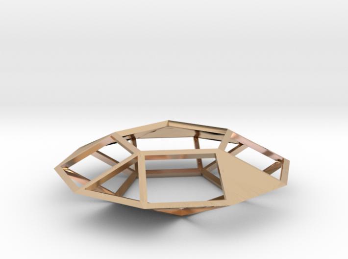 A Pendant Under Construction 3d printed