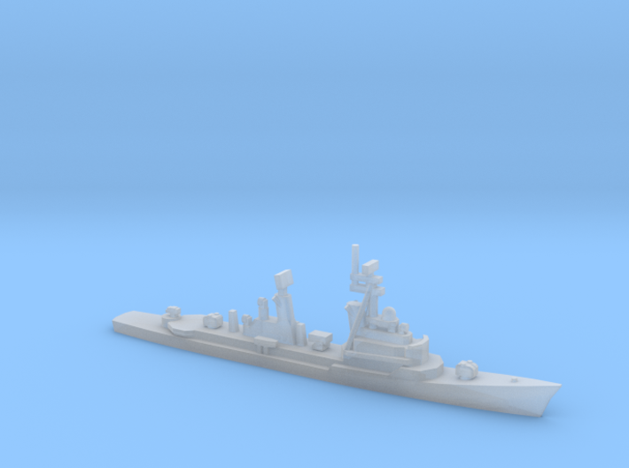 Lütjens-class destroyer (1966), 1/2400 3d printed