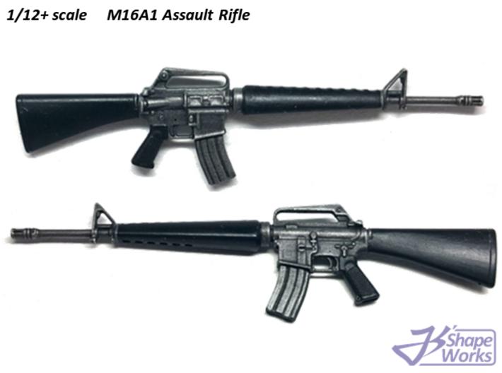 1/9 M16A1 Assault Rifle 3d printed