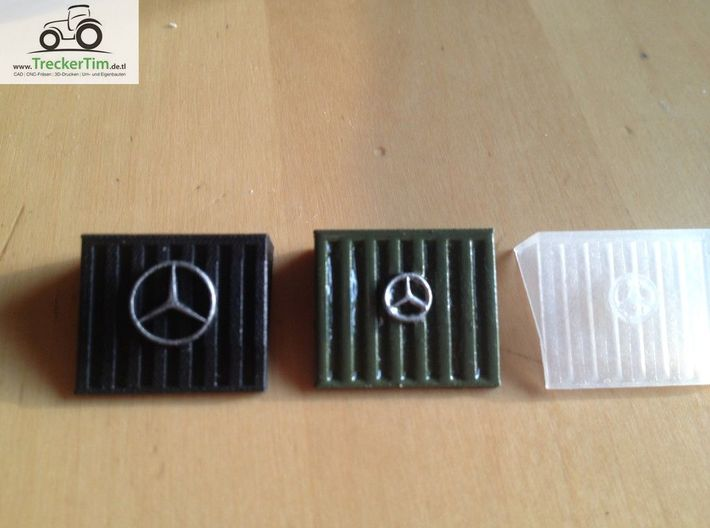 MB Trac Maisgrill kleiner Stern 3d printed
