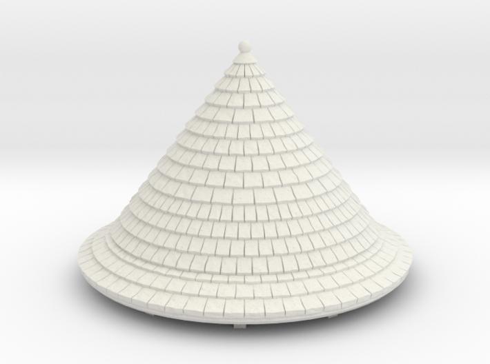 HOF012 - Roof for castle round tower HOF011 3d printed