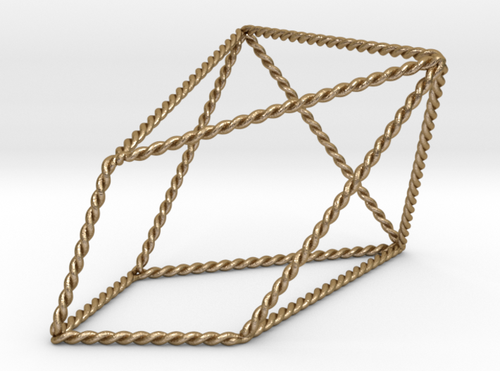 Twisted Chestahedron 3d printed